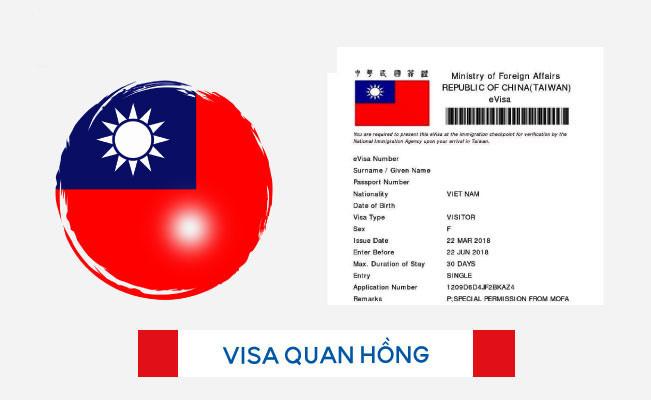 Tìm hiểu về thủ tục xin visa du lịch Đài Loan nhanh nhất - ảnh 1